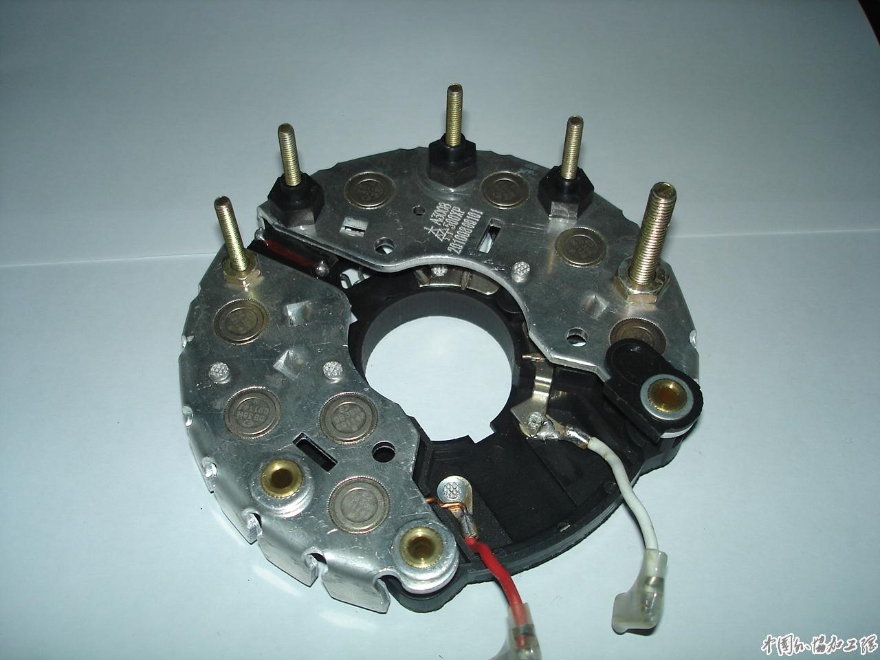 汽车发电机整流器 高清图片