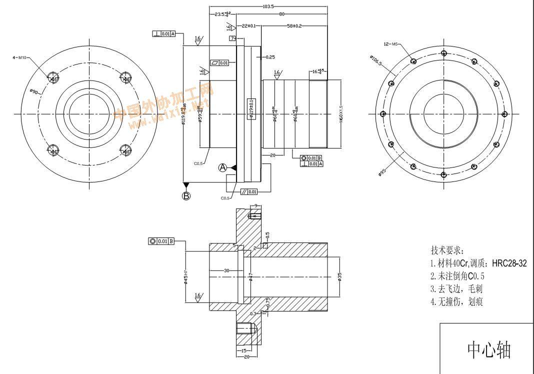 立式车床电路原理图