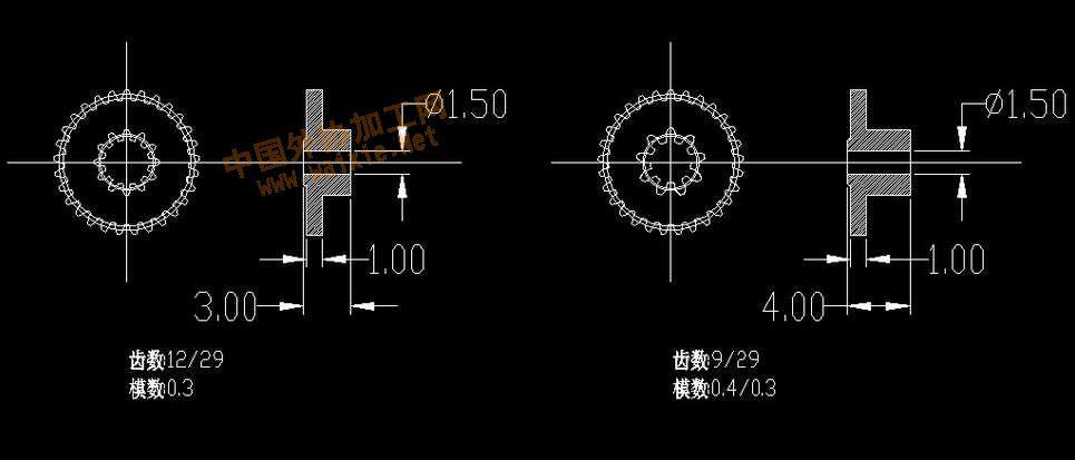 齿轮转速测量电路图